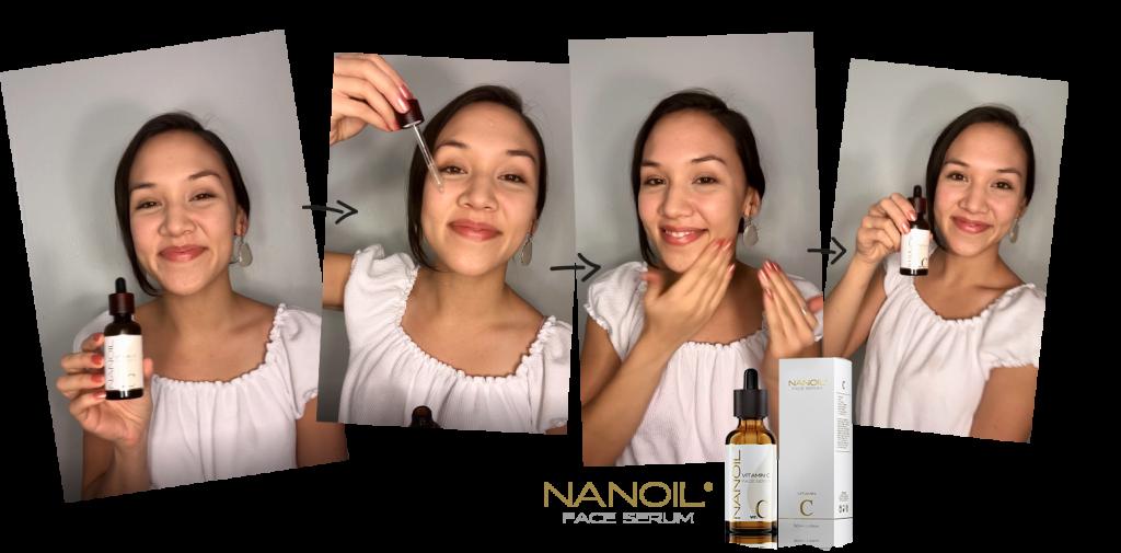 Nanoil aanbevolen gezichtsserum met vitamine C